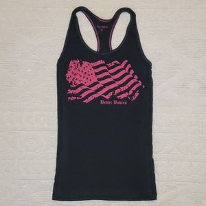Better Bodies black and pink tank top